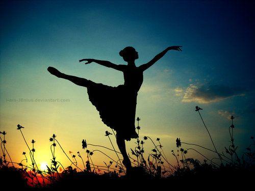 ballet: Picture, Dancing, Ballerinas, Silhouette, Beautiful, Art, Ballet, Photography