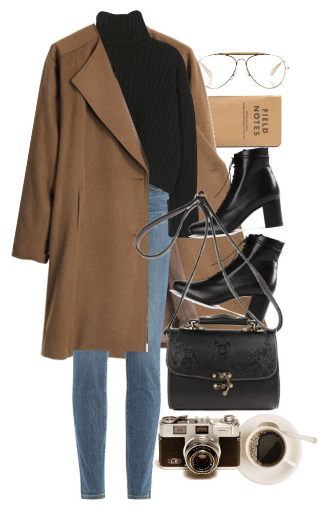 """Untitled #9984"" by nikka-phillips ❤ liked on Polyvore featuring CÉLINE, G.V.G.V., Paige Denim and Yves Saint Laurent"