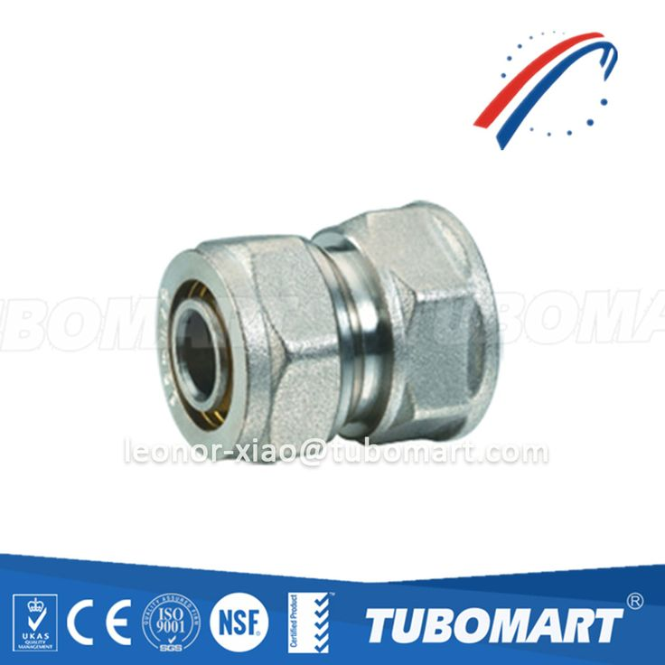 China factory high quality brass fitting TM-100 female straight screw for pex-al-pex pipe HPB58-3A/DZR/CW617N/CW602N compression