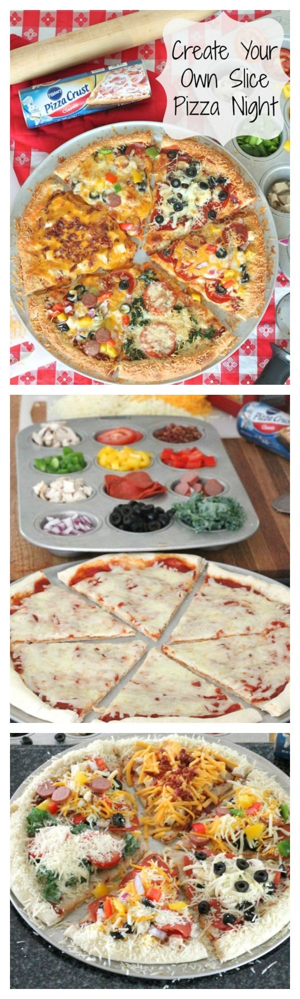 Get the kids involved in the pizza making fun!