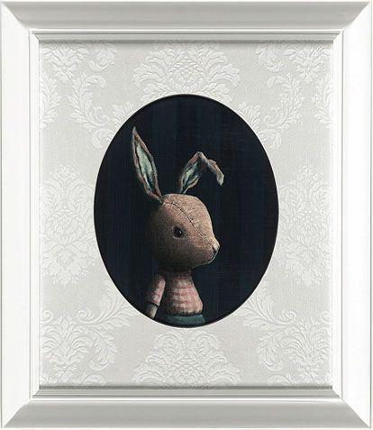 Portrait of Rabbit by Rieko Woodford-Robinson