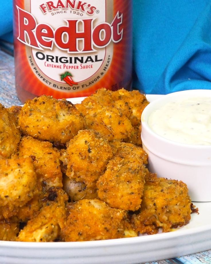 Just 7 ingredients and a few minutes is all it takes to put together these spicy Baked Buffalo Chicken Nuggets. Skip the drive through and bring the heat at home.