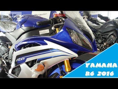 Yamaha R6 Modelo 2016