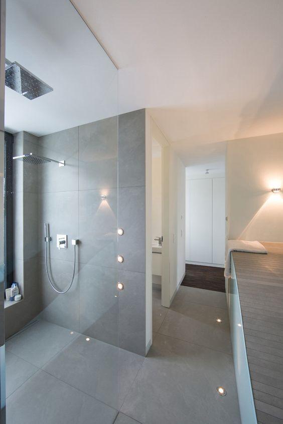 Die besten 25+ Graue badfliesen Ideen auf Pinterest Graue - led spots badezimmer