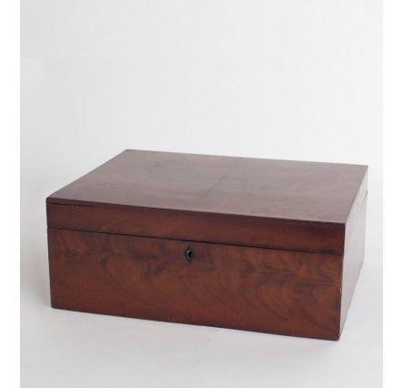 Caja palma de caoba