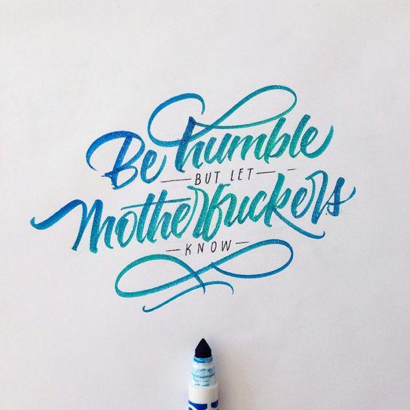 Crayola & Brushpen Lettering Set 4 on Behance