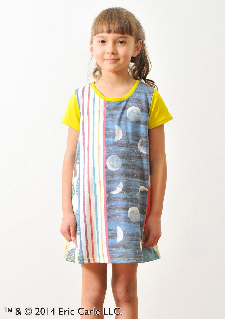 Eric Carle Round Neck Short Sleeve One-Piece(Picture Book Pattern)(Kid – Design Tshirts Store graniph