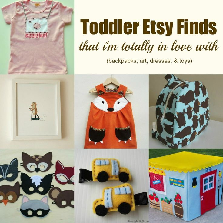 13 Favorite Etsy Finds for Toddlers