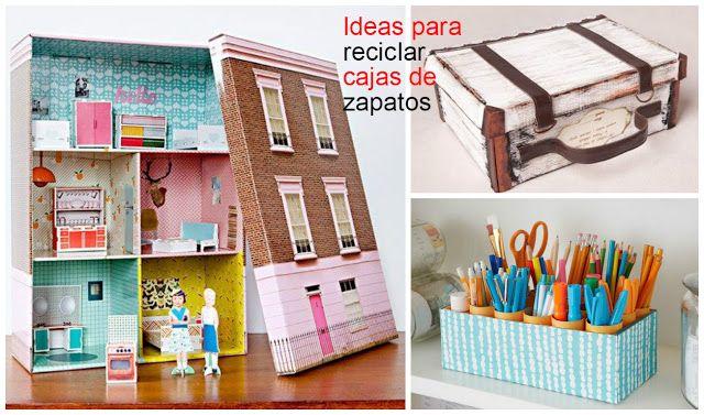 10 Ideas para aprender cómo reciclar cajas de zapato ~ cositasconmesh