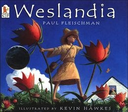 Picture Book: Weslandia by Paul Fleischman Wesley is an outcast - He is not into pizza or footie so when he has to find a project for the summer holidays he has a brilliant idea. He decides to found a civilization of his own in his back garden. What results is the extraordinary, imaginative world of Weslandia.