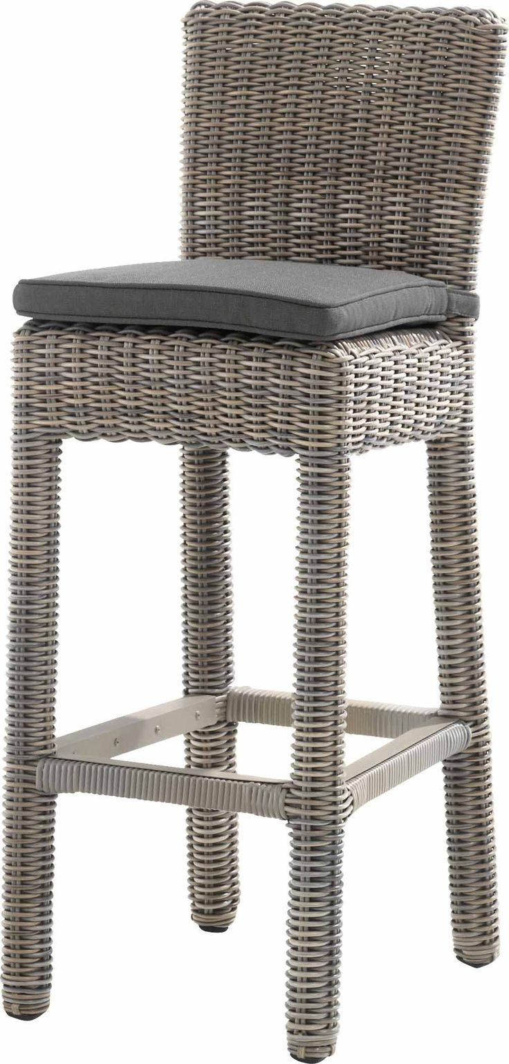 4 Seasons Wales Barchair with Cushion in Pure Weave 2017