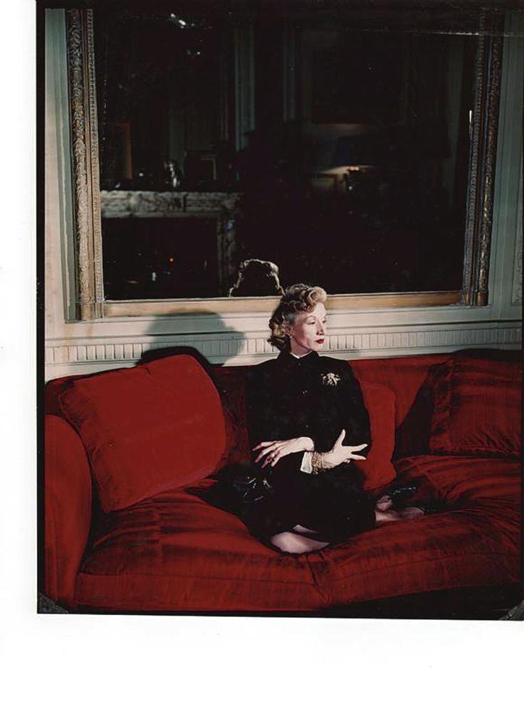 Millicent Rogers wearing her Verdura brooch