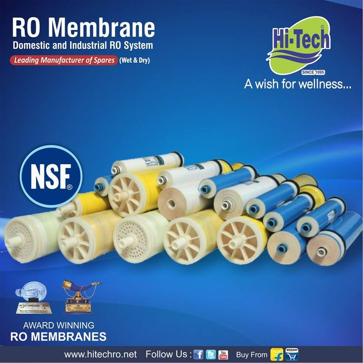 NSF certified Toray membrane. http://www.hitechro.net #Ro #membrane #Toraymembrane #RoMembrane