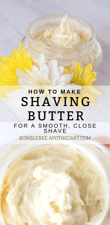 Shaving Butter Recipe in 2020 Homemade shaving cream