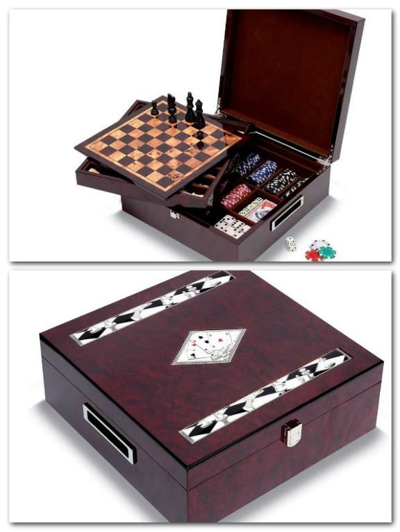 #Chess + #Poker Set - only for real players!