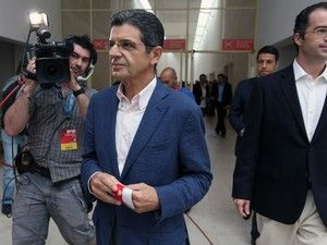 """O advogado Pedro Reis defende que """"toda a prova é consistente, credível e os factos foram todos provados ao longo de quase dois anos de julgamento"""" http://expresso.sapo.pt/sociedade/2017-11-27-Defesa-de-Barbara-Guimaraes-pede-pena-efetiva-de-prisao-para-Carrilho"""