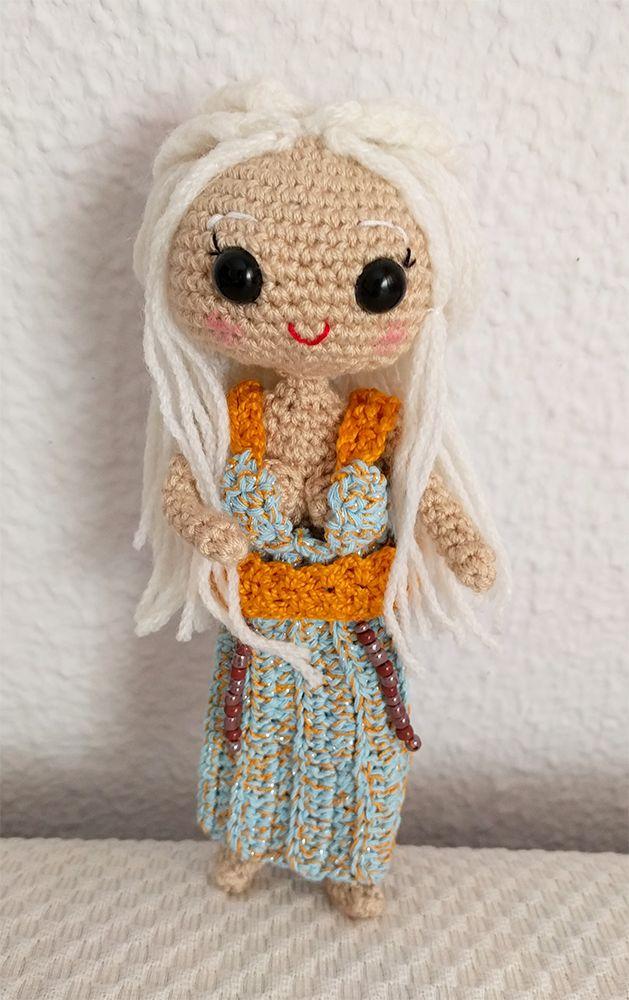Amigurumi madre de dragones: Daenerys