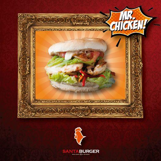Invitas a tu tía, a tu mamá, a tu polola, tu abuelita!! Tenemos la #burger perfecta para ellas. La #MrChicken seducirá el paladar de tus invitadas!