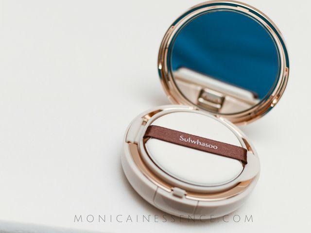 MONICAINESSENCE: Sulwhasoo Perfecting Cushion makeup