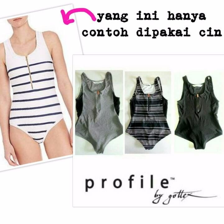 Gottex Swimsuit Half Zipper