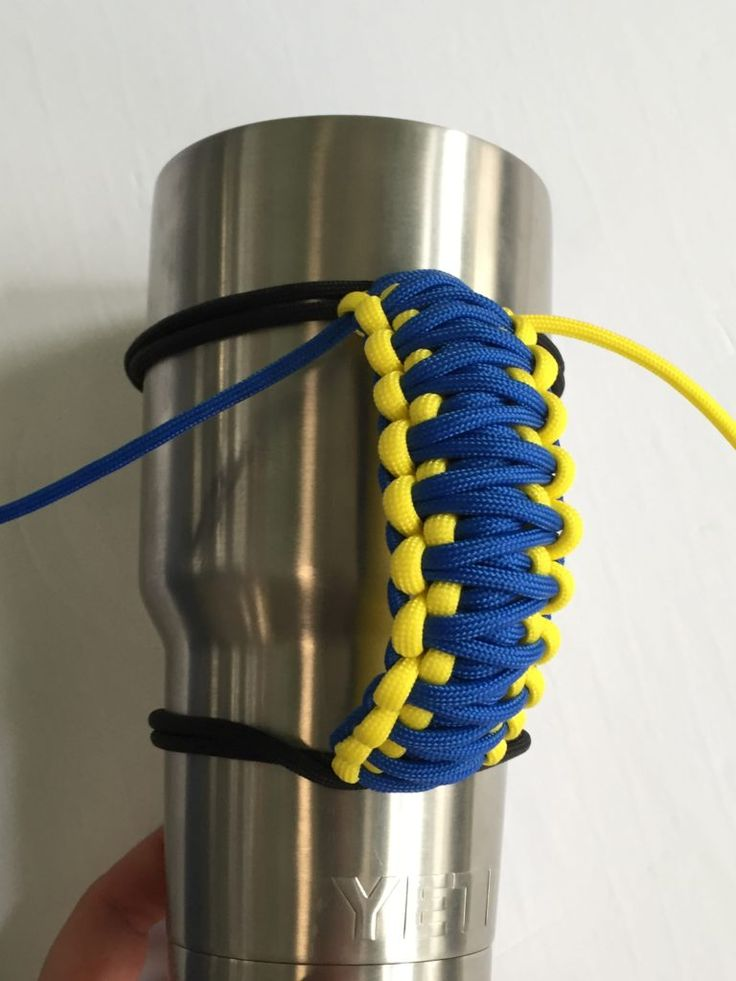 A paracord yeti handle is a very popular craft and actually very easy to make. This version of the yeti handle will have only cobra weave…it is also reversible. Here are some handles that we…