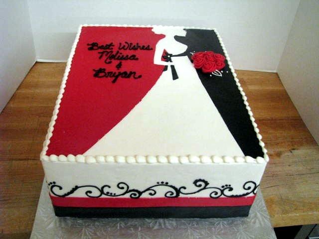 Bridal Shower Sheet Cake Decorating Ideas : 269 best Sheet cakes images on Pinterest Birthday cakes ...