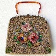 Adore Vintage 50s beaded Purse, $81.50