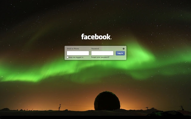 Refresh your Facebook login with your own custom design : Chrome Extension
