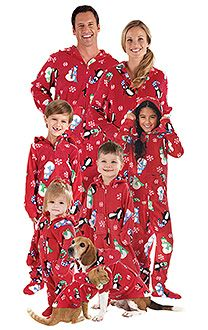 Hoodie-Footie™ for Dogs - Winter Whimsy Snuggle Fleece™ | PajamaGram