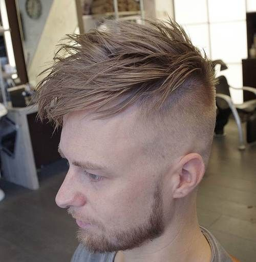 long top short sides edgy hairstyle for men