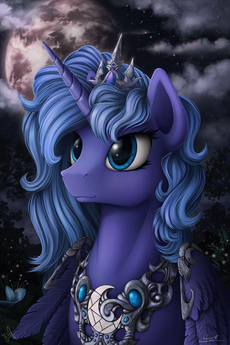My Little Pony: Friendship is Magic fan art // Luna