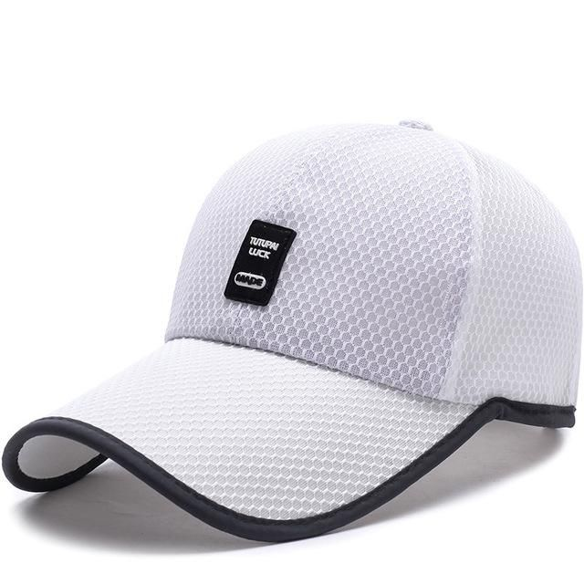 4341312c56f  NORTHWOOD  2017 Polyester Summer Hat Men Mesh Cap Fishing Baseball Cap  Women Golf Bone