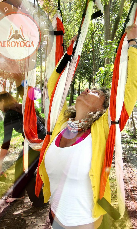 """NOUVEAU DIPLOME AEROYOGA® INTERNATIONAL AUSSI EN COLOMBIE! Devenez professeur avec """"la première école de formation de professeurs de Yoga Ae..."""