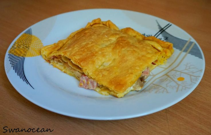 Mushroom pie with 4 ingredients-Μανιταρόπιτα με 4 μόνο υλικά