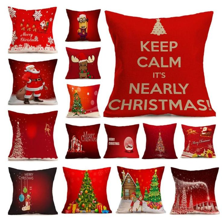 Christmas Pillow Covers //Price: $9.95 & FREE Shipping //     }