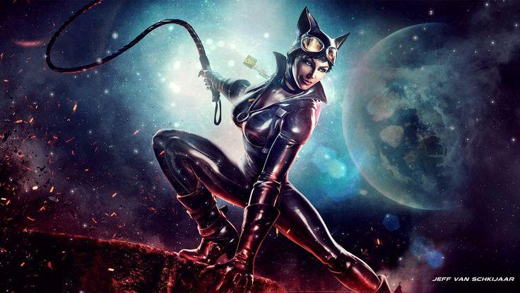 catwoman wallpaper infinite crisis by jeffery10deviantart