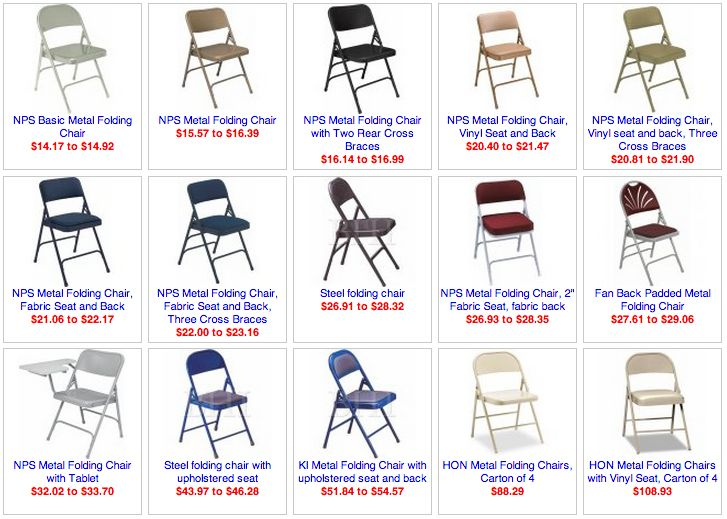 Metal Padded Folding Chairs 8 best folding chairs images on pinterest | folding chairs, metal