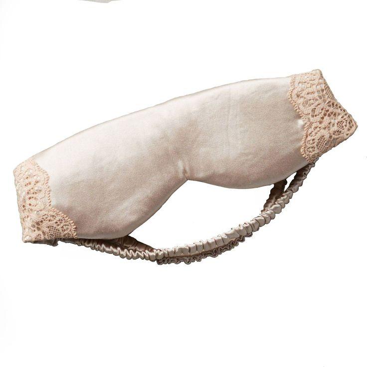 Mimi Holiday Reverie Silk Sleep Mask, $44;anthropologie.com