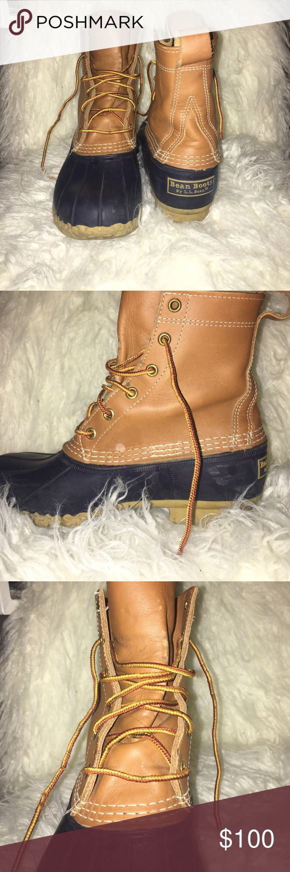 LL Bean Boots Women's size 8 LL Bean Boots. Worn only a few times. Very minor scuffs. Overall great condition. L.L. Bean Shoes Winter & Rain Boots