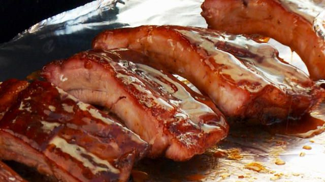 BBQ Pitmasters: These Candied Baby Back Ribs Will Slap The Tongue Right Out of Your Head : Destination America