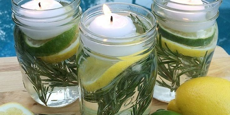 Keep Bugs Away With a Non-Toxic Mason Jar Repellent