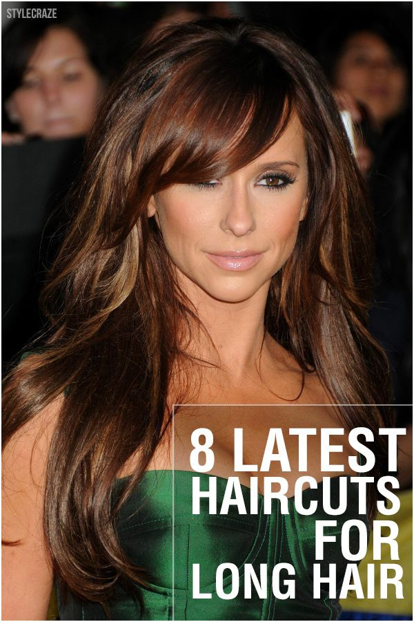 This is one of the latest hairstyles for long hair with layers.