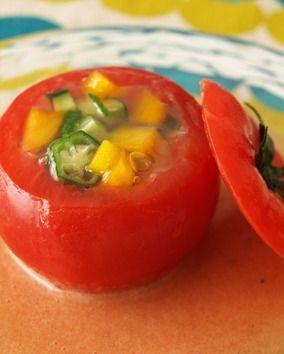 トマトファルシ(ゼリー寄せ)<レシピコンテスト> レシピブログ