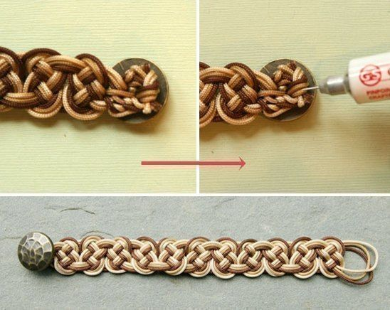How to DIY Stylish Ombre Knotted Bracelet | www.FabArtDIY.com LIKE Us on Facebook ==> https://www.facebook.com/FabArtDIY