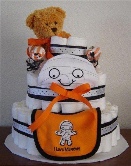 Halloween Baby Shower Cake