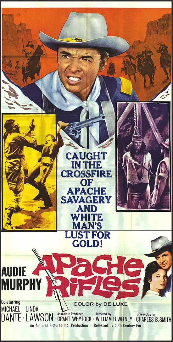 Audie Murphy in ''Apache Rifles'' 1964