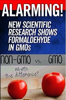 New Study Shows GMO Soy Accumulates Cancer Causing Chemical Formaldehyde   Food Democracy Now