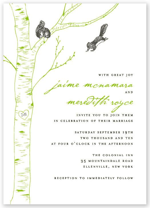 um, it is a wedding invitation. how freaking awesome is that?