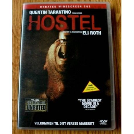 Quentin Tarantino: Hostel DVD
