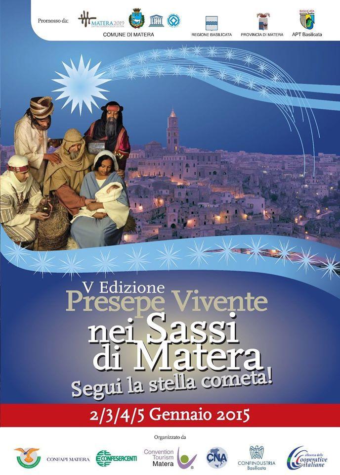 Matera: Krippenspiele, Live Nativity Scene, Presepe Vivente